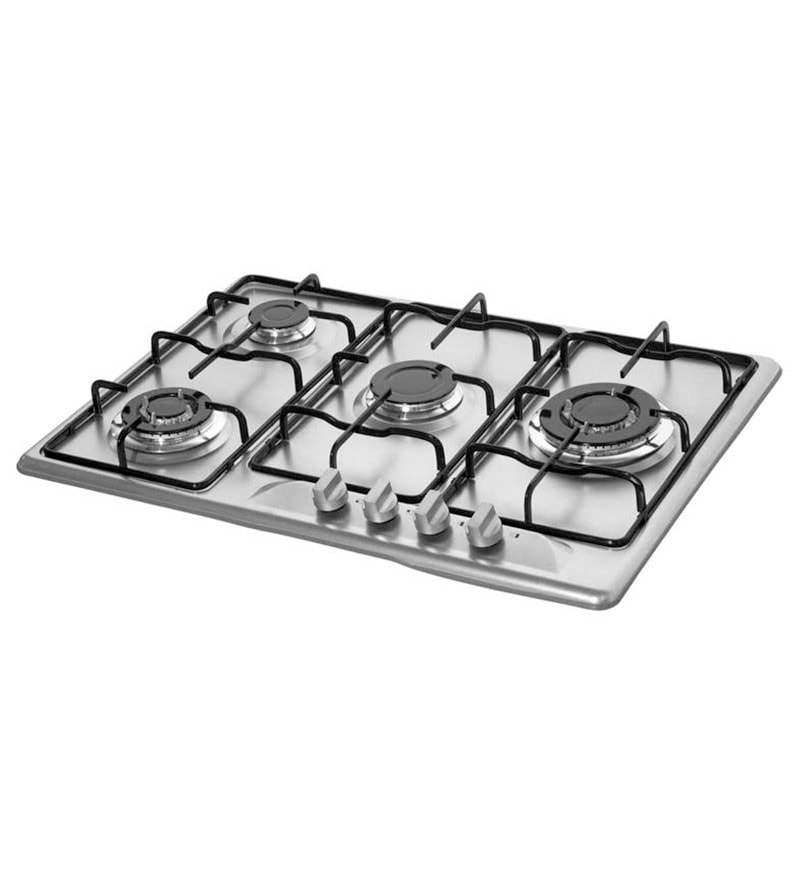 Kaff K724B 2TSM Stainless Steel 4-burner With Auto Ignition Hob