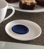 Kahla Touch Dark Blue & White Porcelain Five Senses Saucer
