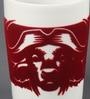 Kahla Touch Red Buffalo Porcelain 350 ML Five Senses Large Mug
