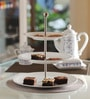 Kahla Update Maxi White Porcelain 3 Tier Cake Stand