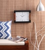 Black & Brown Wooden 10 x 14 Inch 2181 Wall Clock by Kaiser