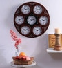 Kaiser Cola Wooden 19.3 Inch Round Wall Clock