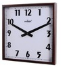 Brown Wood Wall Clock by Kaiser