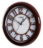 Cola Wooden 9.1 Inch Round Wall Clock by Kaiser