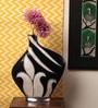 Kalaplanet Black Metal Designer Flower Vase