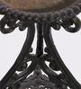 Karara Mujassme Victorian Style Hand-crafted Antique Green Cast Iron Planter