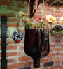 Recycled Oval Hanging planter by Kavi