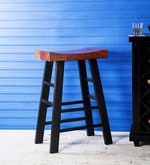 Kennewick Bar Stool in Dual Tone Finish