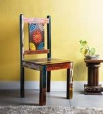 Keshia Dining Chair in Distress Finish