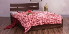 Kelly Queen Bed with Box Storage
