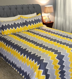 Keith 225 TC Microfibre King Size Bedsheet With 2 Pillow Covers ...
