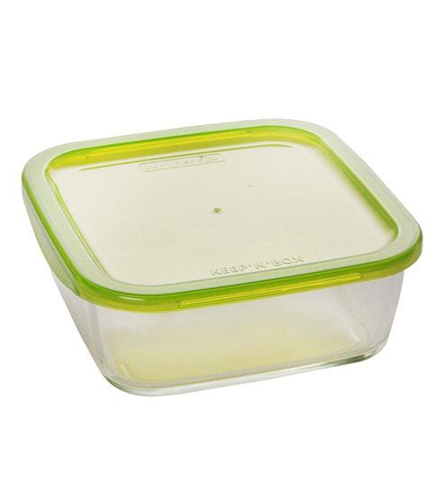 Buy Luminarc Keep N Box Green 1170 Ml Storage Container Online