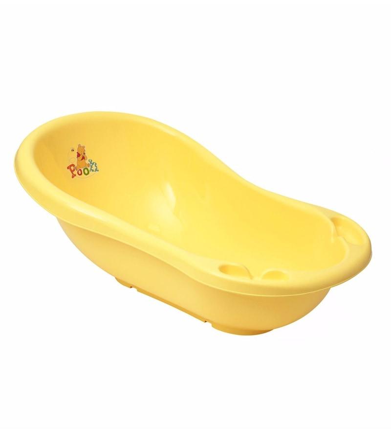 Buy Keeeper Baby Bath 100 Cm with Plug Winnie The Pooh Plastic ...