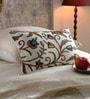 Multicolour Cotton & Wool 12 x 20 Inch Danzdar Cushion Cover by KEH