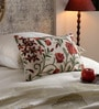 Multicolour Cotton & Wool 12 x 20 Inch Spring Cushion Cover by KEH