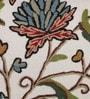 KEH Multicolour Cotton & Wool 20 x 20 Inch Artistic Cushion Cover