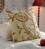 KEH Multicolour Cotton & Wool 20 x 20 Inch New Watlab Cushion Cover