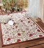 Multicolour Wool 72 x 48 Inch Area Rug by KEH