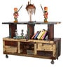 Kalgoorlie Console Table in Distress Finish by Bohemiana