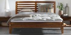 King Size Bed in Matte Tulsi Finish