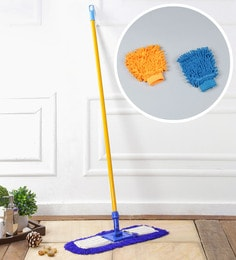 Kingsburry Dust Control Floor Mop With Free Hand Gloves