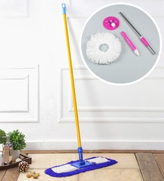 Kingsburry Dust Control Floor Mop With Free Pink Mop Rod