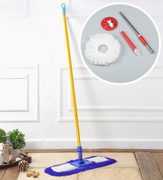Kingsburry Dust Control Floor Mop With Free Red Mop Rod