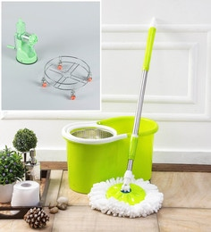 Kingsburry Steel Green Mop With Free Juicer & Gas Trolley