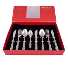Kishco Limited Crescent Stainless Steel Cutlery Set - Set Of 24