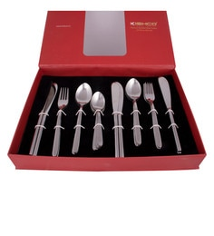 Kishco Limited Vale Stainless Steel Cutlery Set - Set Of 24