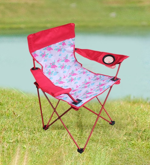 Phenomenal Kiddos Folding Chair In Red Colour By Homeland Pdpeps Interior Chair Design Pdpepsorg