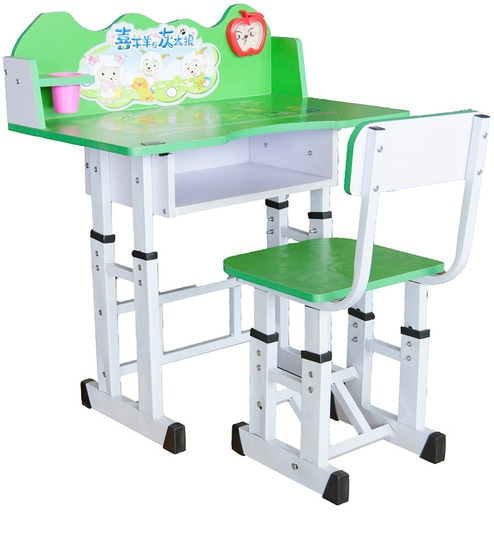 Buy Kids Study Table Amp Chair In Green Colour By Parin Online Study Tables Study Tables