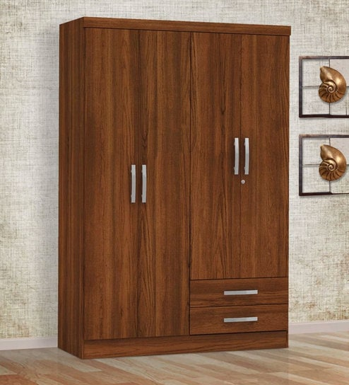 Home Dream » Teak Finish Wardrobe