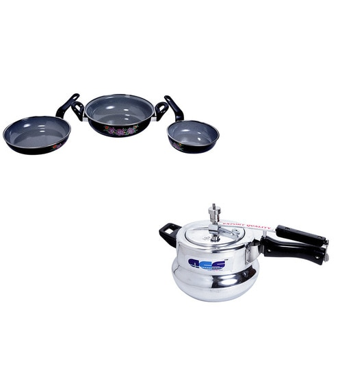Kitchen King Combo Acs Cookie Induction Based Pressure Cooker 3