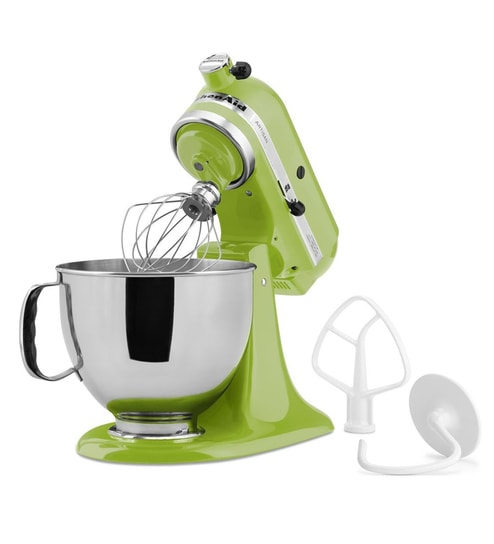 KitchenAid Artisan Design Series 4.8L Tilt-Head Stand Mixer In Green Apple (5KSM150PSDGA)