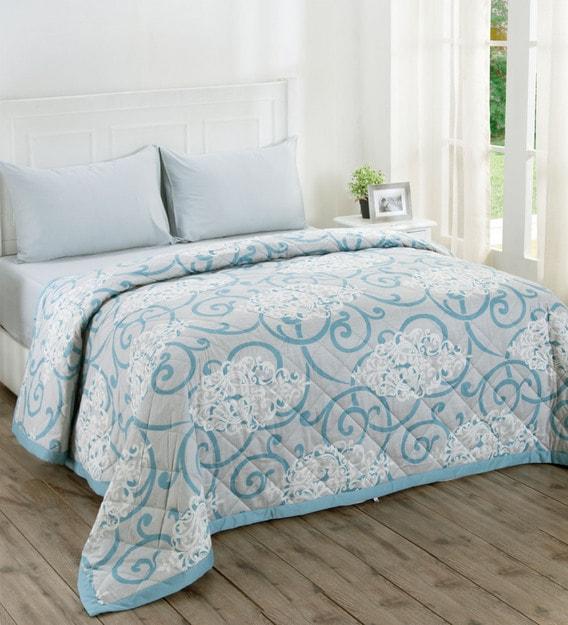 Cotton 145 Gsm Ac Room Queen Bed Quilt, Queen Bed Comforters