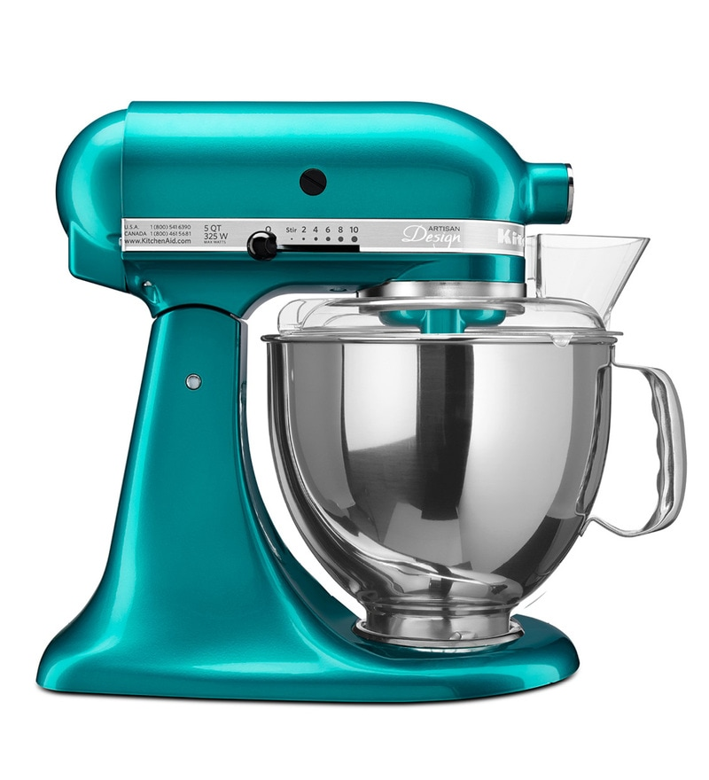 Buy Kitchenaid Artisan Design Series 4 8l Tilt Head Stand Mixer In Golden Nectar 5ksm150psbsa