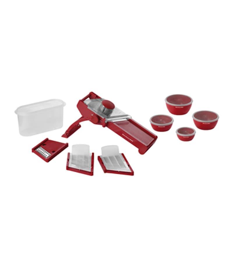 KitchenAid Mandoline Slicer With Set of 4 Prep Bowls KG310ER