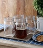 Kilner Clear Glass 400 ML Mug - Set of 4