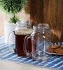 Kilner Clear Glass 540 ML Mug - Set of 2