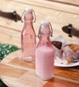 Kilner Pink Glass 250 ML Bottle - Set of 2