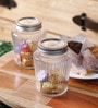 Kilner Perserve Clear Glass 500 ML Round Vintage Jar - Set of 3