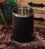 King International Black 5 L Open Dustbin
