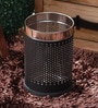 King International Black 5 L Dustbin