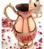 King International Mughlai Style Stainless Steel and Copper 1 L Jug