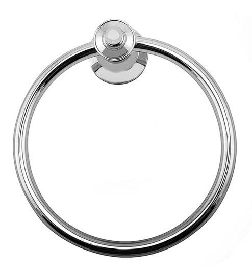 Buy Klaxon Anchor Chrome Finish Brass Towel Ring Online Towel Rods