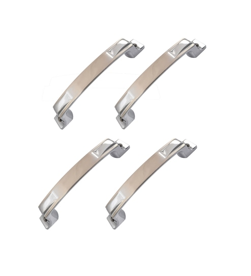 Buy Klaxon Noble Brass Door Handles - Set of 4 Online - Door Handles ...
