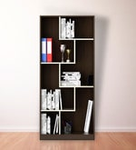 Kosmo Book Shelf in Glossy Mol Acacia Finish