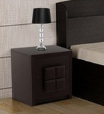 Kosmo Choco Bed Side Table in Vermont Finish
