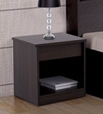 Kosmo Duet Bedside Table in Fumed Oak Finish